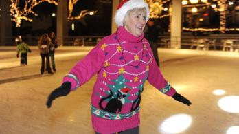 A ronda karácsonyi pulcsik is megtolják az ünnepi környezetszennyezést