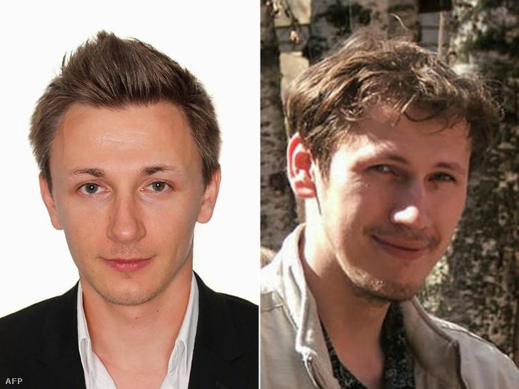 Balra Jakubec, jobbra Turasev.