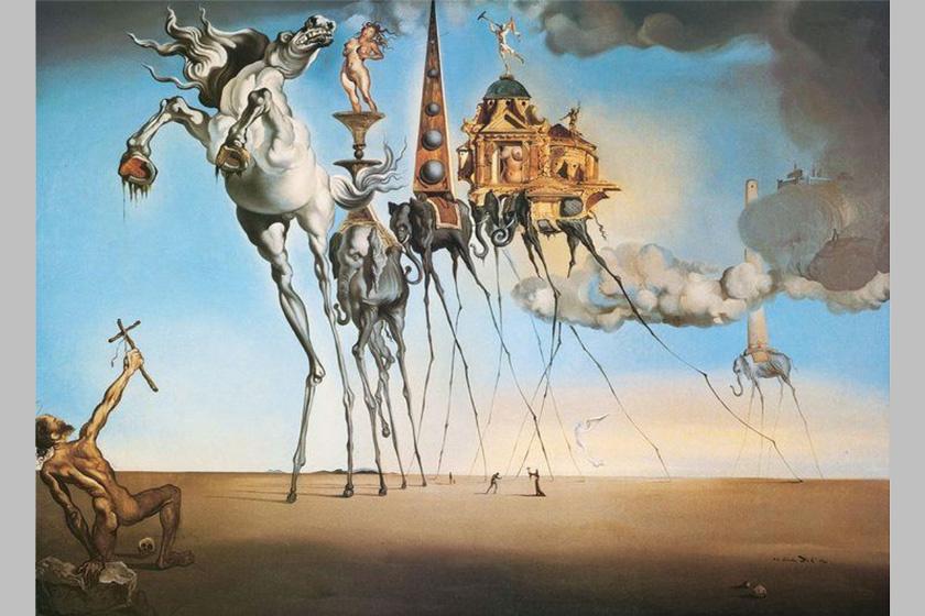 Salvador Dalí: Szent Antal megkísértése