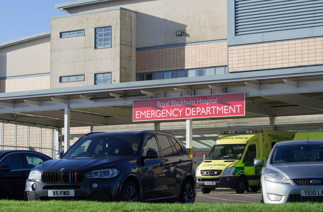 A Royal Blackburn Kórház sürgősségi osztálya