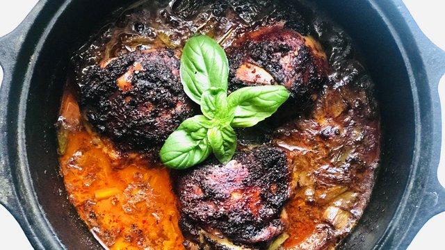 Chilis-csokis csirke vagyis a mole poblano