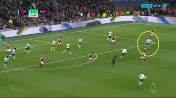 Szon 100 méteres szólóból lőtt gólt, 5-0-ra nyert a Tottenham