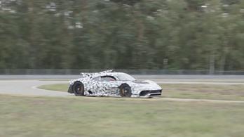Tényleg F1-esen szól az Mercedes-AMG Project One