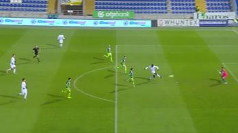 NB I.: 38 másodperc után gólt kapott a Kaposvár