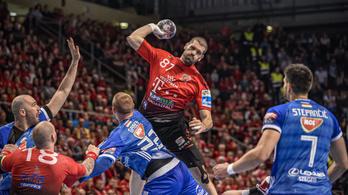 A Veszprém túlélte a Szeged rohamait, náluk az előny a kézibajnokságban