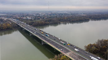 Mától újra felszabadul a csepeli M0-s híd