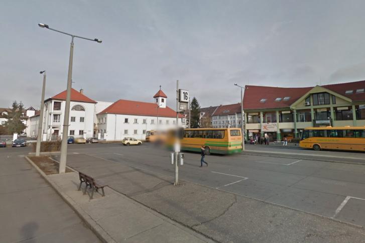 A nyíregyházi autóbusz-végállomás