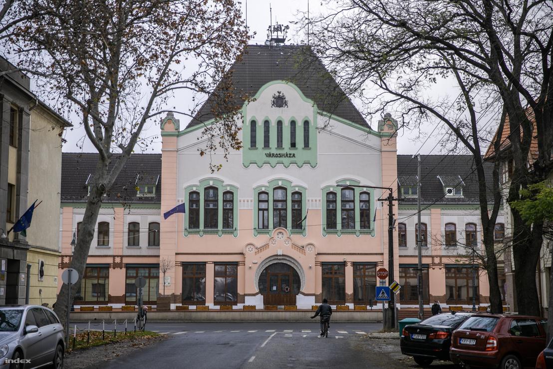 A városháza Törökszentmiklóson
