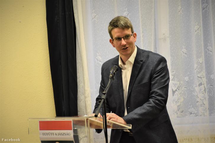 Berec Zsolt Miklós a jászszentandrási kampányzáró fórumon