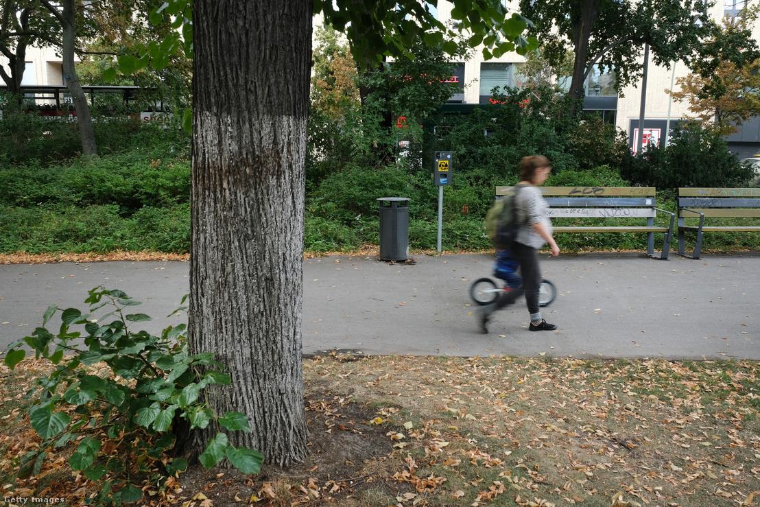 Zelimhan Hangosvili meggyilkolásának helyszíne Berlinben