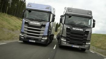 A Mercedes miatt vált nevet a Scania egyik kamionja