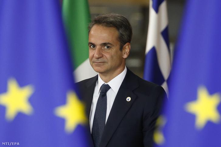 Kiriákosz Micotákisz görög miniszterelnök