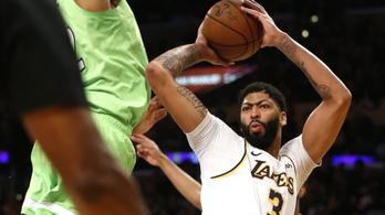 LeBron James helyett 50 pontos társa húzta a Lakerst