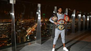 A Wembley-ben, brit bokszoló ellen védheti meg vb-címeit Joshua