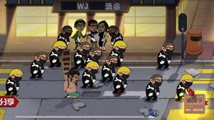 Hongkongi tüntetőket kell verni egy új kínai videójátékban