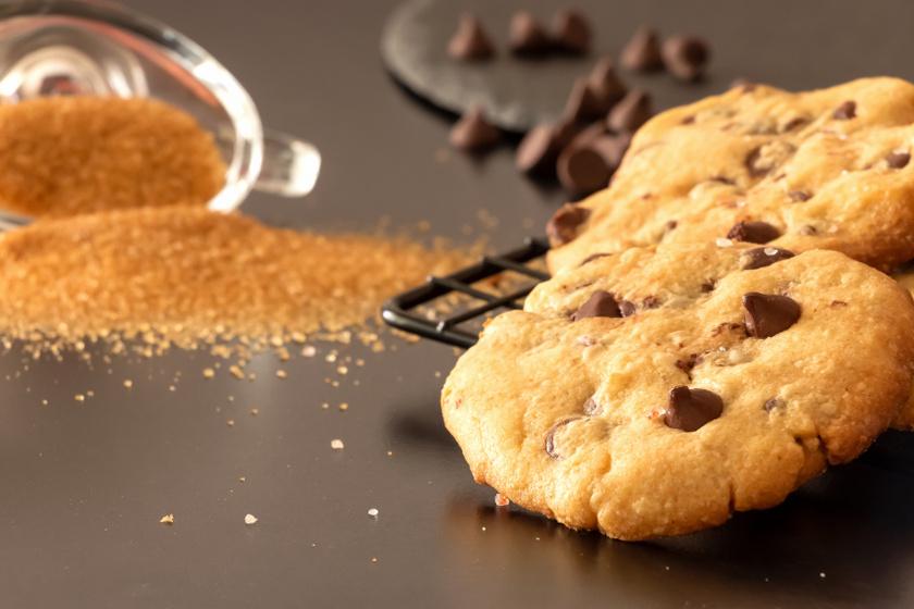 csokicsipszes sós karamellás keksz recept