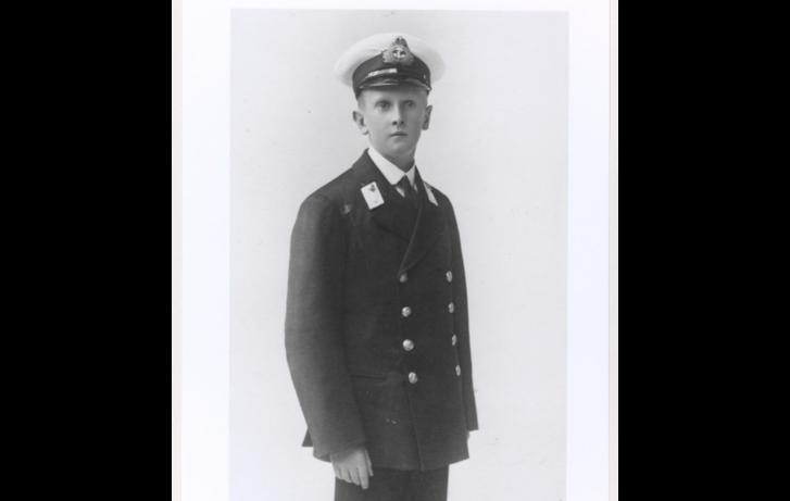 A 15 éves Wenman Wykeham-Musgrave tengerészkadét