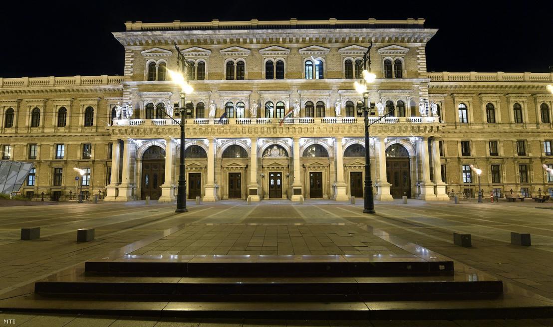 A Budapesti Corvinus Egyetem központi épülete.