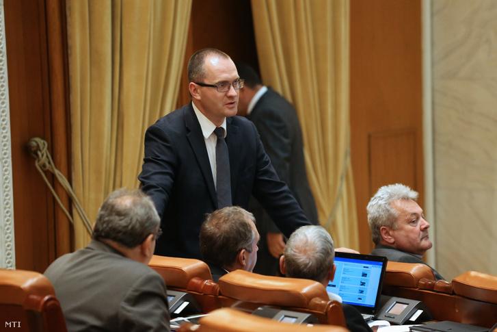 Korodi Attila a Romániai Magyar Demokrata Szövetség (RMDSZ) képviselőházi frakcióvezetője