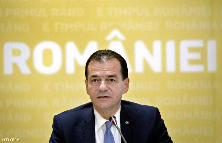 Ludovic Orban kijelölt román miniszterelnök
