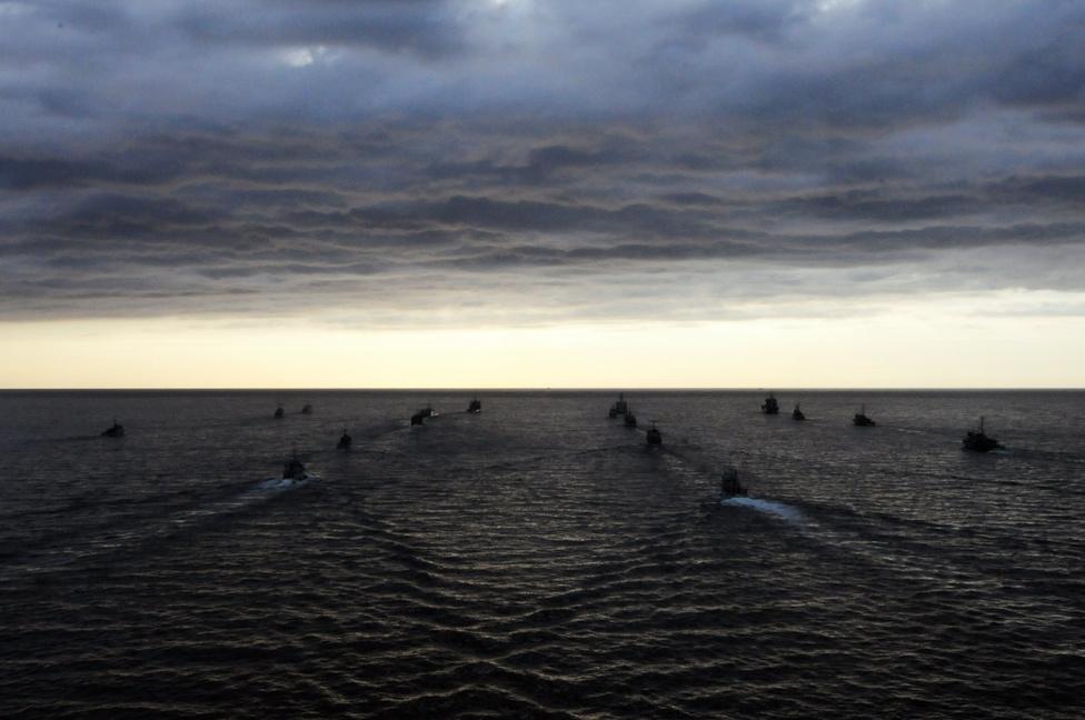 Kötelék a Balti-tengeren.