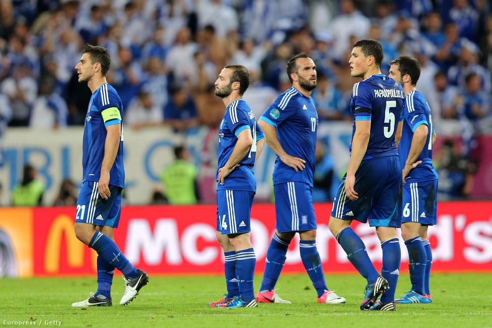 Elmaradt a görög csoda. Már az első félidőben több góllal vezethettek volna a németek, de csak Lahm tudott betalálni.
