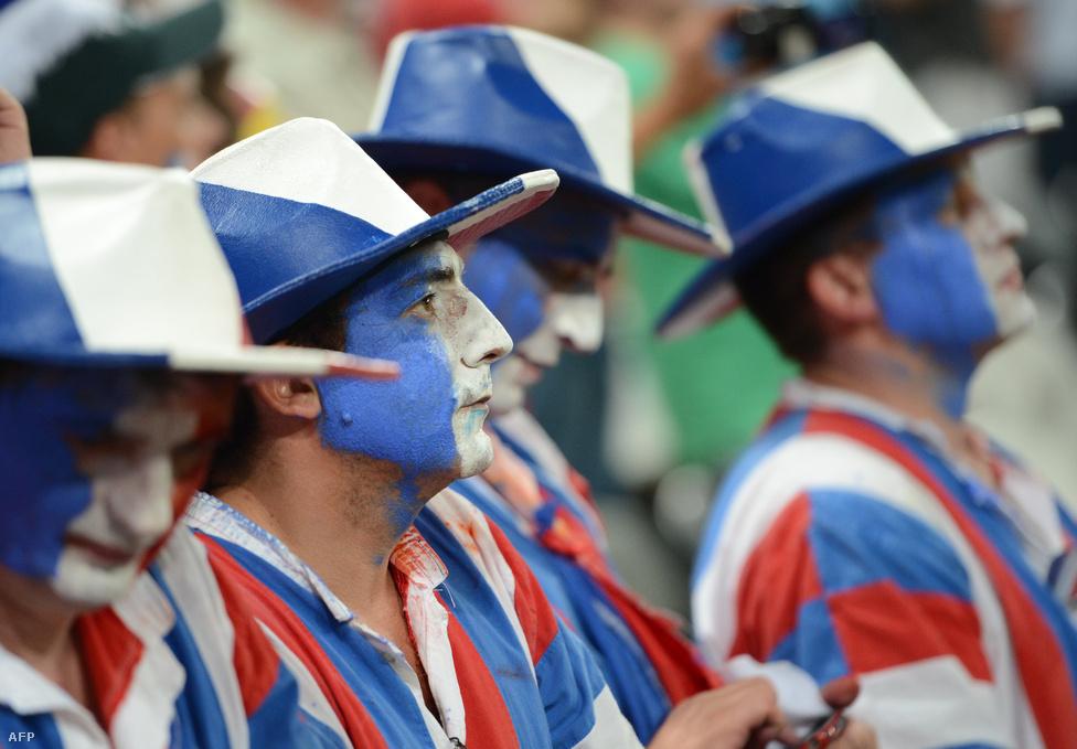 A franciák 2-0-ra kaptak ki.