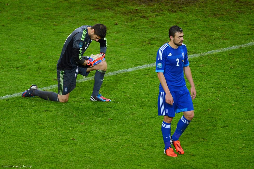Maniatisz és Szifakisz. 4-2-re kapott ki Görögország.