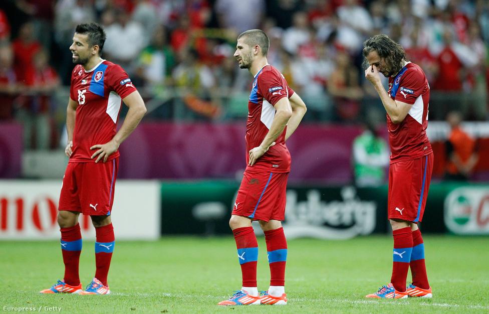 Portugália 1-0-ra verte a cseheket, és jutott elsőként a négy közé az Eb-n.