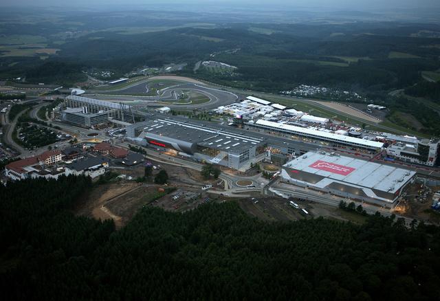Vidámpark épült a Nürburgring mellé