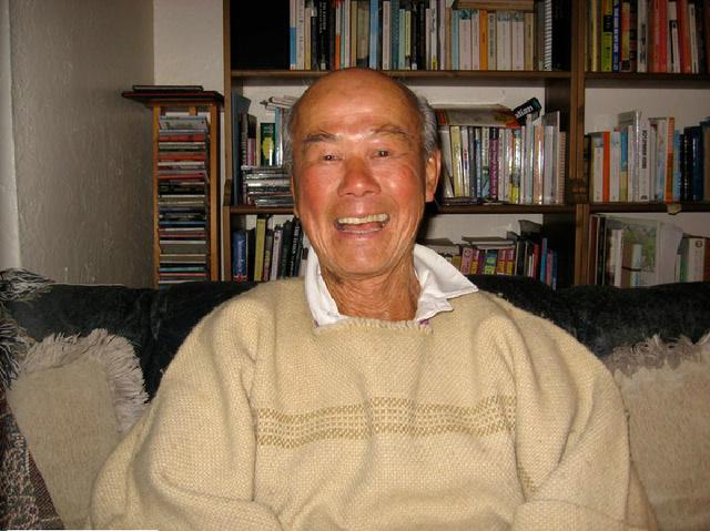 Az idős Tek Young Lin