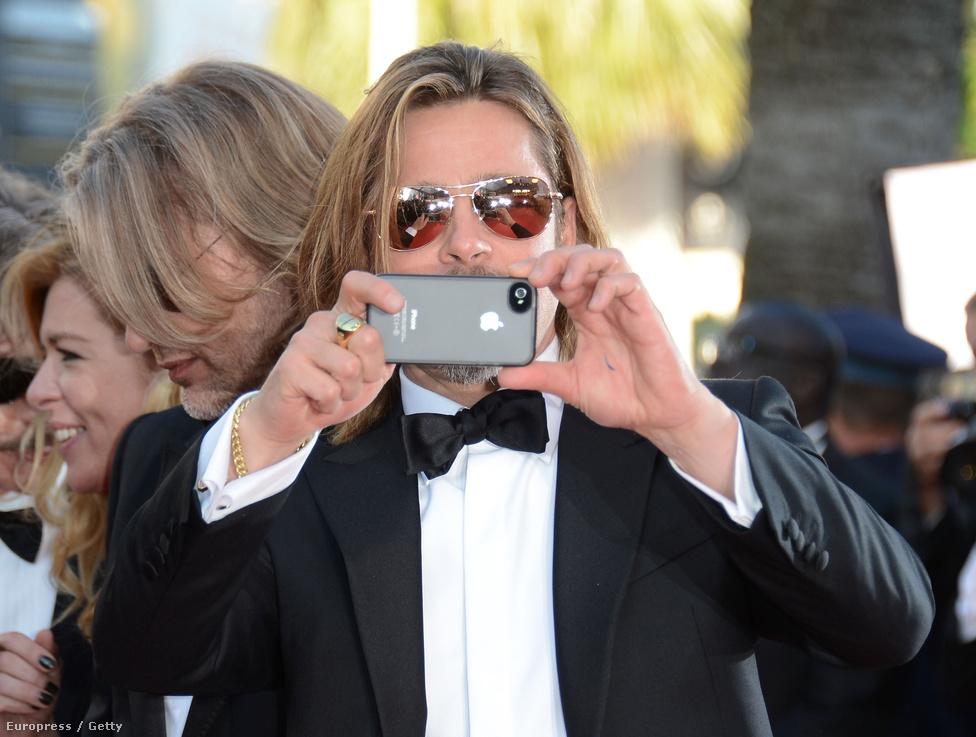 Brad Pitt vajon milyen filtert használ?