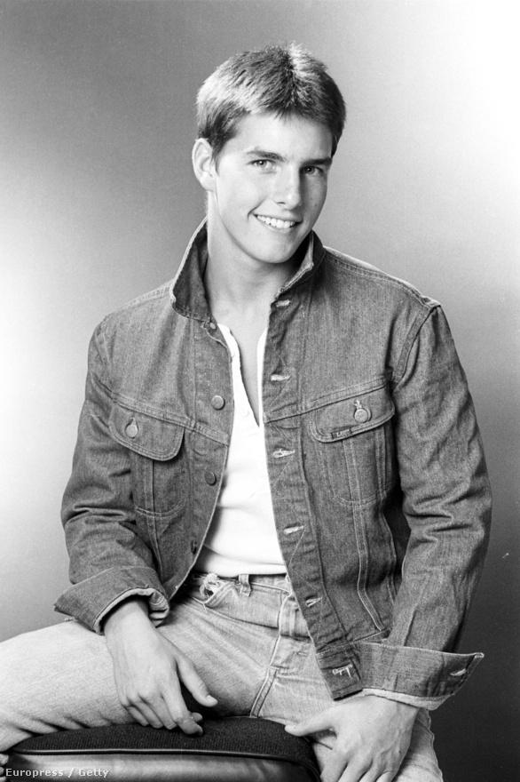 Az egyik első kép az ismertség útjára lépő Tom Cruise-ről. Karrierje hivatalosan 1981-ben kezdődött, a kép valamikor 1980-ban készülhetett talán, de nem tudni pontosan.