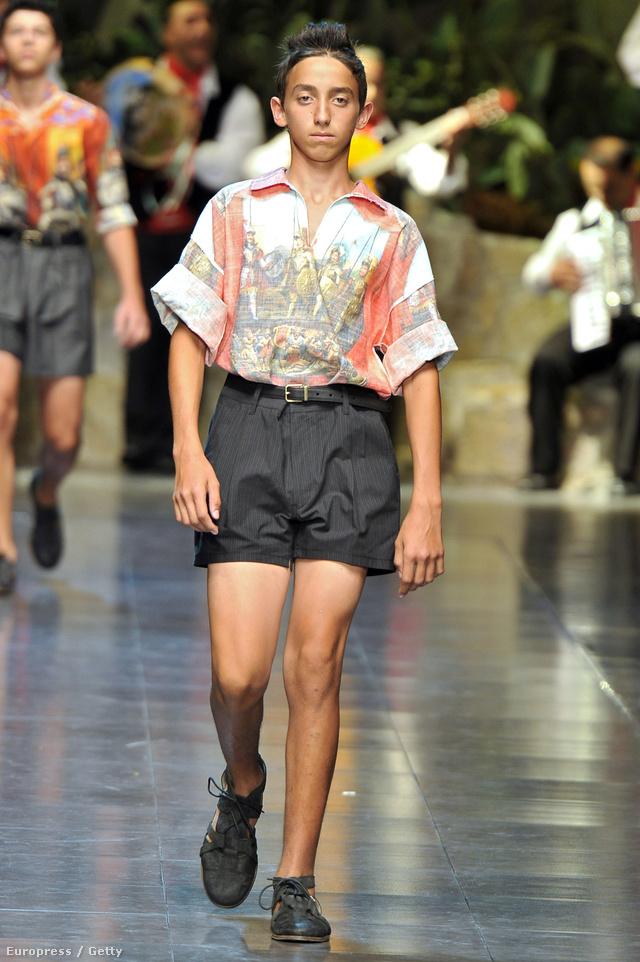 Dolce & Gabbana, 2013. tavasz-nyári kollekció, shortos lúzer kategória