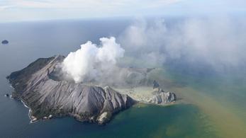 Nyolc embert nem találnak az új-zélandi vulkánkitörés után