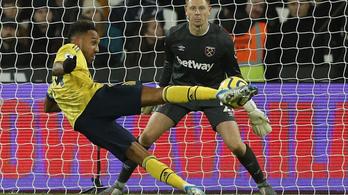 Az Arsenal látványos játékkal mozdult el a holtpontról