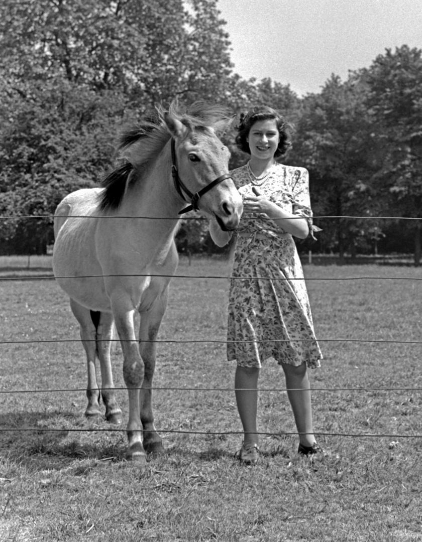 Erzsébet királynő 1944-ben.