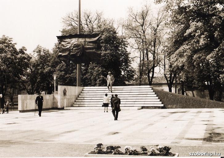A mohácsi Lenin-emlékmű (1974)