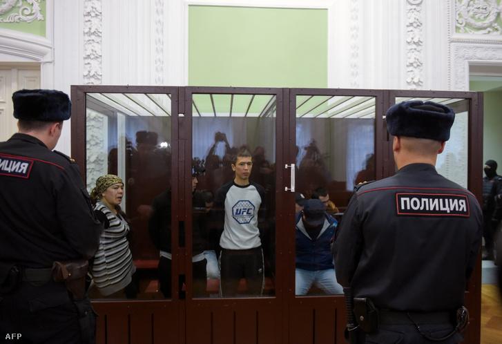 Abror Azimov a bíróságon