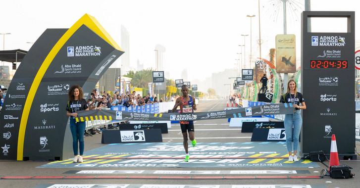 Reuban Kipyegon iramdiktálóként nyerte az Abu-dzani Maratont