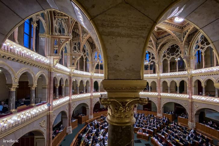 Plenáris ülés a Parlamentben 2019. december 10-én