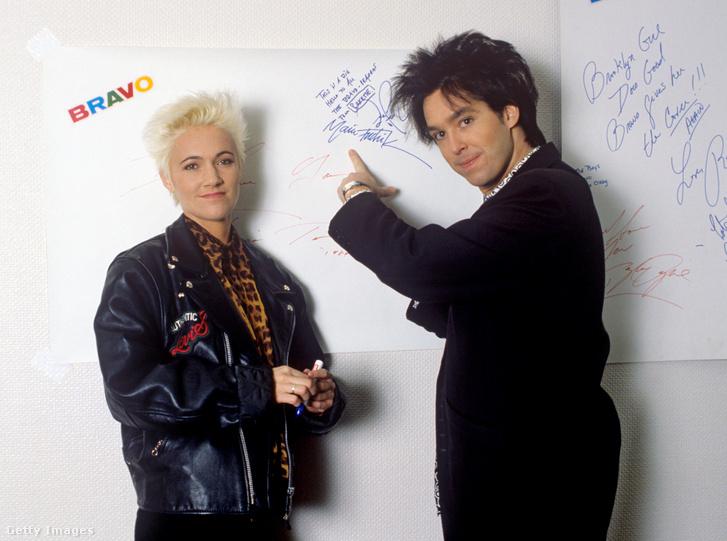 Marie Fredriksson és Per Gesslein 1989-ban Dortmundban