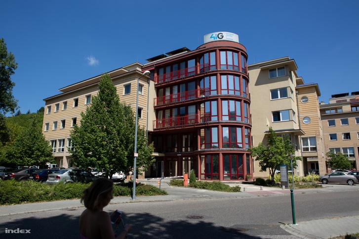 4iG székháza a budapesti Montevideo utcában