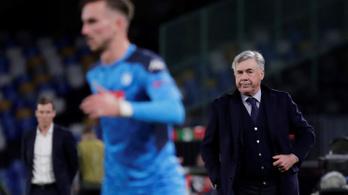A 4-0-s győzelem sem volt elég, kirúgta Ancelottit a Napoli