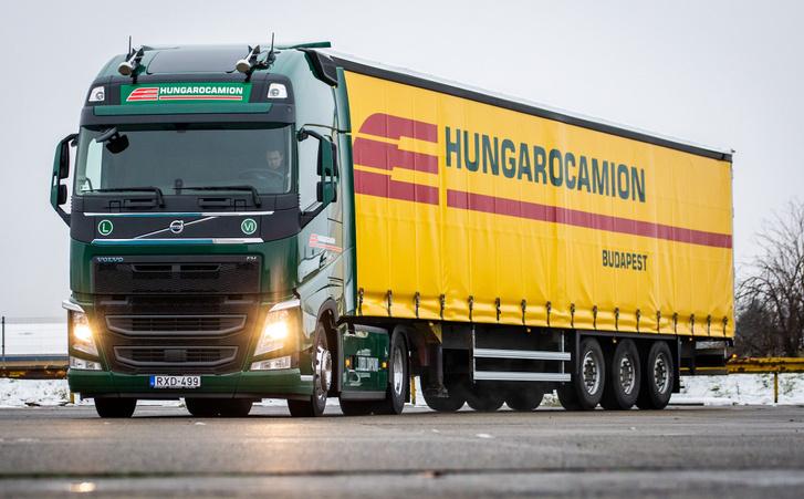 Egyelőre nem térnek vissza a zöld-sárga kamionok (fotó: Volvo Trucks Magyarország)