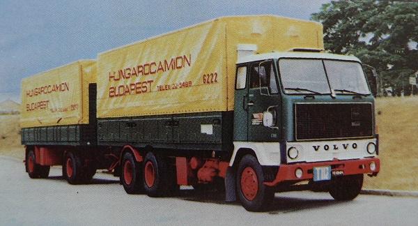 Az első Volvo F-88 1969-ben állt forgalomba a Hungarocamionnál