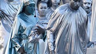 Kanye West bádogemberként reklámozza legújabb operáját