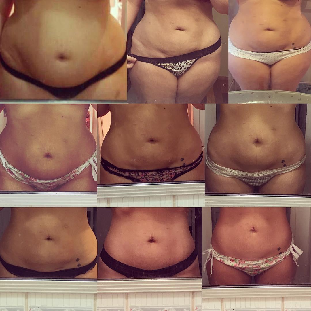súlycsökkenés 60 kg előtt és után