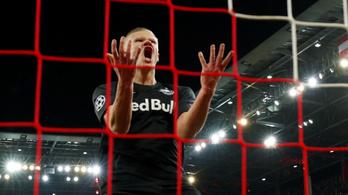 Őrjöngött a Liverpool gólja után Szoboszlai csapattársa