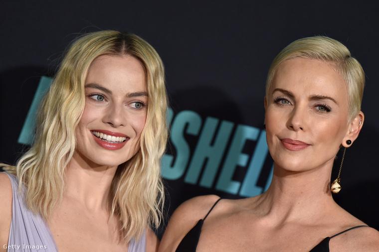 Margot Robbie kettéfésülte lenőtt, nagyjából hullámos haját, és már indult is